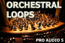 Orchestral Loops & Orchestra Single Shots -  Sample CD .wav HipHop EDM RnB House