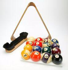 "Vintage World's Best Made in Belgium Aramith Billiard Balls 2-1/4"" Complete Set."