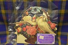1989 John Grossman The Gifted Line Basket Box Unopened White Doves