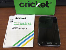 Samsung Galaxy Amp 2 SM-J120AZ Black Smartphone Cricket (Bad ESN) E