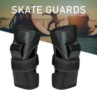 Wrist Guards Anti Fall Palm Protection Pads Adult Skateboard Gauntlets H0F9