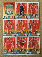 Liverpool Football Trading Cards 2014-2015 Season