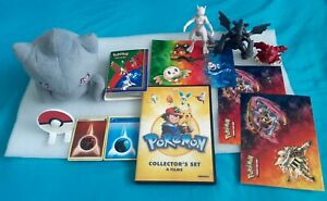 """Pokemon Lot Banette Tomy 9"""" PLUSH,album cards,Collector 4 FILM DVD,FIG,Stickers"""