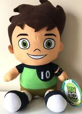 Ben 10 Cartoon Network Plush 12''. Licensed Toy. NWT. Ben Tennyson.