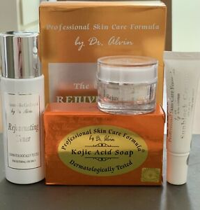 100% ORIGINAL Rejuvenating Facial Set By. Dr Alvin 🇺🇸 (Louise Beauty Box)