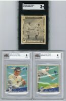 1948 Swell BABE RUTH SGC 3 + 1934 GOUDEY LOU GEHRIG SAYS Lot of 2 BVG 4