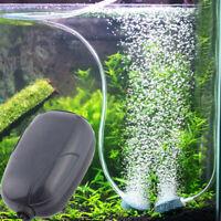 New 3W Energy Efficient Aquarium Oxygen Fish Air Tank Pump Super Silent Pumps