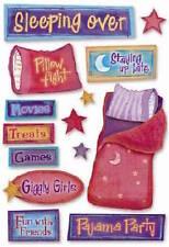 Karen Foster Design Cardstock Scrapbook Stickers - Sleeping Over