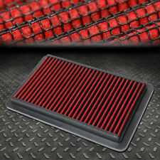 FOR 95-03 MAZDA PROTEGE 5 1.5L-2.0L RED WASHABLE HIGH FLOW DROP IN AIR FILTER