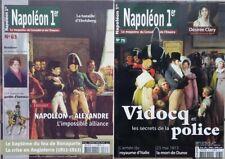 Lot 2 revues NAPOLEON 1er - Magazine du Consulat et de l'Empire. N° 63 et 79.