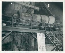 American Silica's Barber Greene 835 Industrial Dryer Press Photo