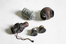 antique socket lot inserts | hubbell benjamin cutler hammer vtg industrial