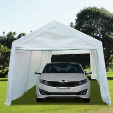 Peaktop® 20' x 10'Heavy Duty Carport Gazebo Canopy Party Tent Garage Car Shelter