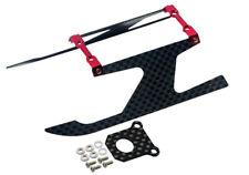 NEW Microheli Blade 130x Alum/Carbon Fiber Landing Gear I Style RED 130 X