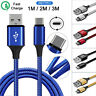 Fast Samsung Galaxy S10 S9 S9+ S8 Plus Type C USB-C Sync Charger Charging Cable