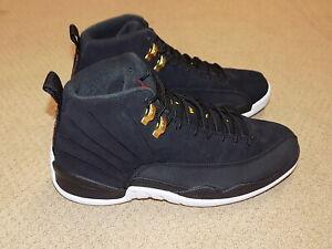 2019 Air Jordan12 Retro Nike Shoes Black White Taxi New in Box