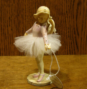Foundations #4025659 ANGEL BALLERINA with BUTTERFLY, by Karen Hahn NEW/Box