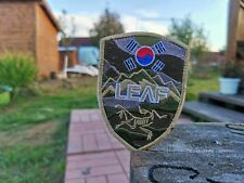 Vintage Arcteryx LEAF Military Patch Shield USA CANADA Korea Sig Sauer Tactical