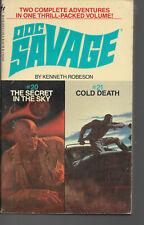 DOC SAVAGE  #20  & #21  KENNETH ROBESON  BANTAM BOOKS  1982 REISSUE  2 in 1 vol