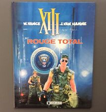 XIII. Rouge total. Dargaud 1988 EO. VANCE