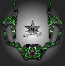 Arctic Cat Wildcat Trail Graphic Decal Kit Wrap Unleashed Black Green