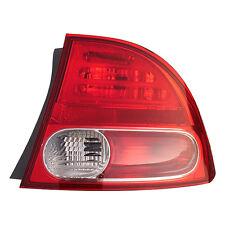 Fits 06-08 Honda Civic Sedan Hybrid Right Passenger Side Tail Light Lamp RH