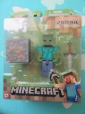 Minecraft Series 1 overworld zombie new in box