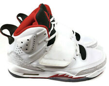 Air Jordan Son of Mars GS Leather Sneakers White Red 512246-112 Size 6.5 Y