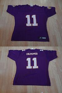 Women's Minnesota Vikings Daunte Culpepper XL Reebok Vintage Jersey