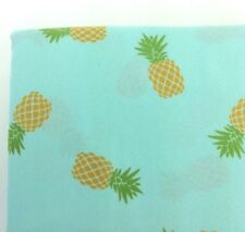 California King PINEAPPLE Print Microfiber Sheet Set 4 Piece Bedding New
