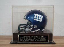 Saquon Barkley Football Mini Helmet Case With A New York Giants Nameplate