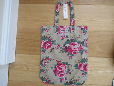 Cath Kidston Beige Shopping Bag With Floral Print *Limited STOCK*