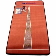 MediCrystal FIR Amethyst Mat - Negative Ion - InfraRed Heating Pad -Single 39x75