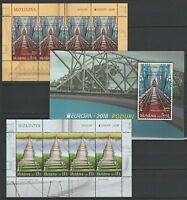 "Moldova 2018 CEPT Europa ""Bridges"" Booklet MNH Variant B (second issue)"