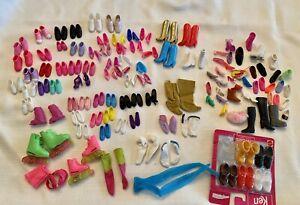 Vintage Barbie Stacie Todd Skipper Shoes Boots Heels Tennis Shoes + Singles Lot