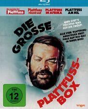 BLU-RAY-BOX NEU/OVP - Die grosse Plattfuss-Box - 4 Filme
