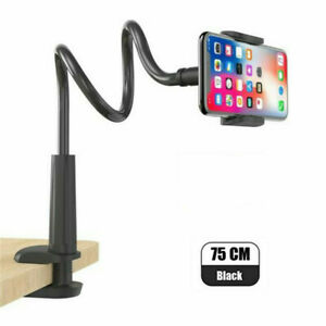 Mobile Phone Holder Clamp Bed Lazy Stand Flexible Long Arm For iPhone Android US