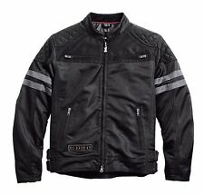 Harley Davidson Mens Willie G Excam Warrior Skull Motorcycle Mesh Jacket 2XL XXL