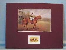 """Horse Racing Great - """"Man O' War"""" honored by the stamp for Thoroughbred Racing"""
