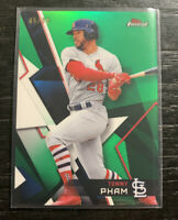 Tommy Pham Green Refractor 2018 Topps Finest 5/99 #21 St. Louis Cardinals