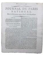 Procès Louis 16 1792 de Sèze Prince de Créhange Lorraine Francfort Révolution