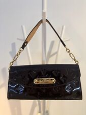 Louis Vuitton Sunset Boulevard Amarante Mongram Vernis Clutch LV Bag Handbag