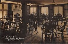 POSTCARD   DORSET  BOURNEMOUTH    W H Smith &  Sons   Old English Tea  Rooms II