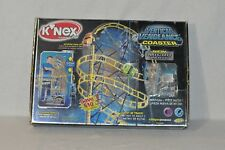 K'Nex Building Set Vertical Vengeance Coaster 50080 / 22808 Lot With Box 0119!