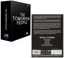 THE TOMORROW PEOPLE (1973-1979) COMPLETE 70's ORIGINAL TV Series - R2 DVD not US