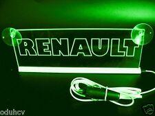 12V LED verde Interior Cabina Luz Matrícula para RENAULT Camión Iluminación