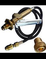 "GENUINE LPG Filler Gun & Hose Automotive. Comes with Acme Female 1 3/4"" Adapter"