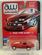 AUTO WORLD RELEASE 1 VERSION A 1967 RED CHEVY CORVETTE 427 1:64 SCALE