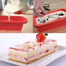 Baking Tray Rectangle Pan Cake Tin Panful Silicone Non Stick Bakeware