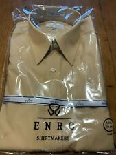 Enro EZCool Non-Iron Dress Shirt 16.5 35/36 Tall - Golden Mustard